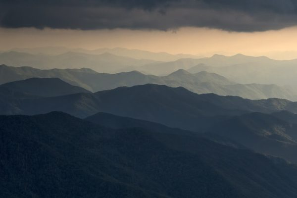 Great Smoky Mountains National Park in Western North Carolina - aerial photo - © 2014 David Oppenheimer - Performance Impressions Photography Archives - http://www.performanceimpressions.com